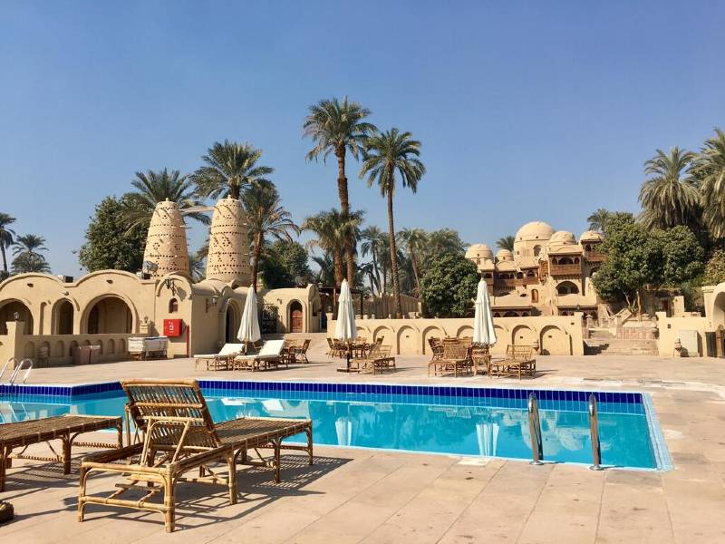 Luxor tempels zwembad special stay